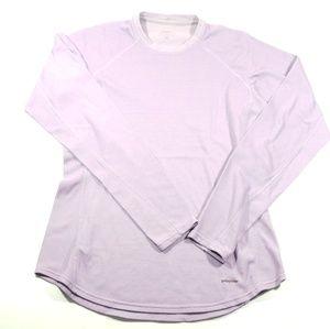 Patagonia lavender purple Womens long sleeve top